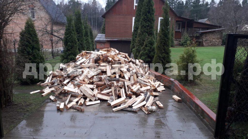 5 м³ берёзовых дров в д. Вельяминово, Истринский р-н