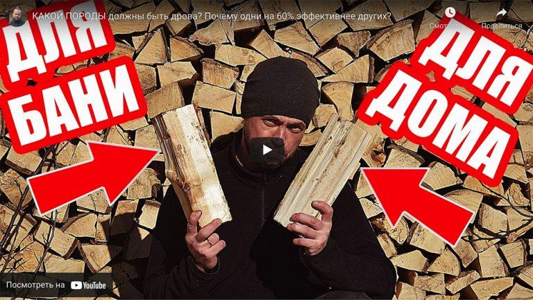 Видео: Какие дрова лучше подходят для дома, а какие для бани?