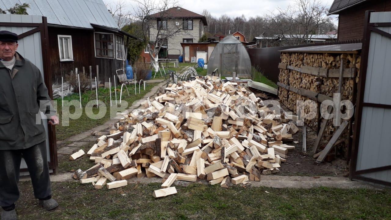 5 м³ берёзовых дров в г. Дедовск, Истринский р-н