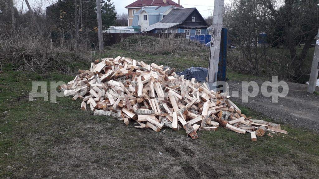 5 м³ берёзовых дров в д. Бужарово, Истринский р-н