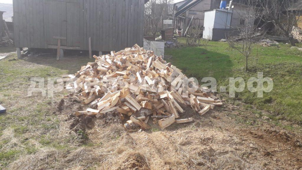5 м³ берёзовых дров в д. Талицы, Истринский р-н