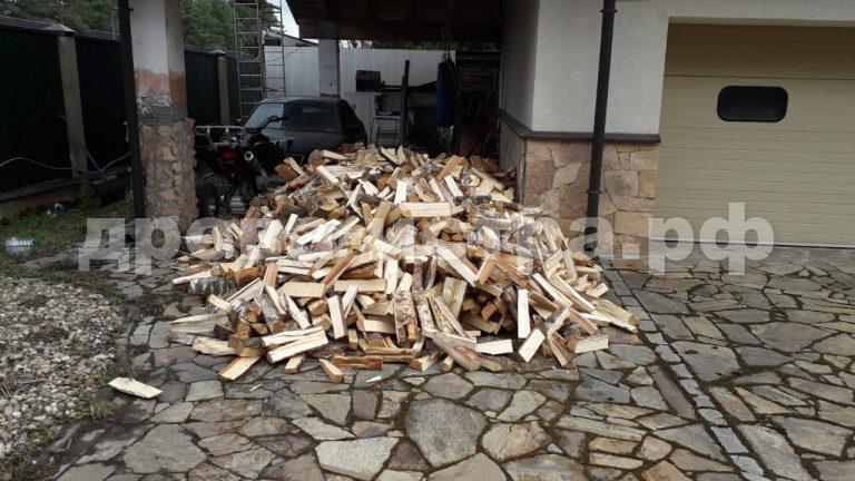 5 м³ берёзовых дров в д. Поздняково, Истринский р-н