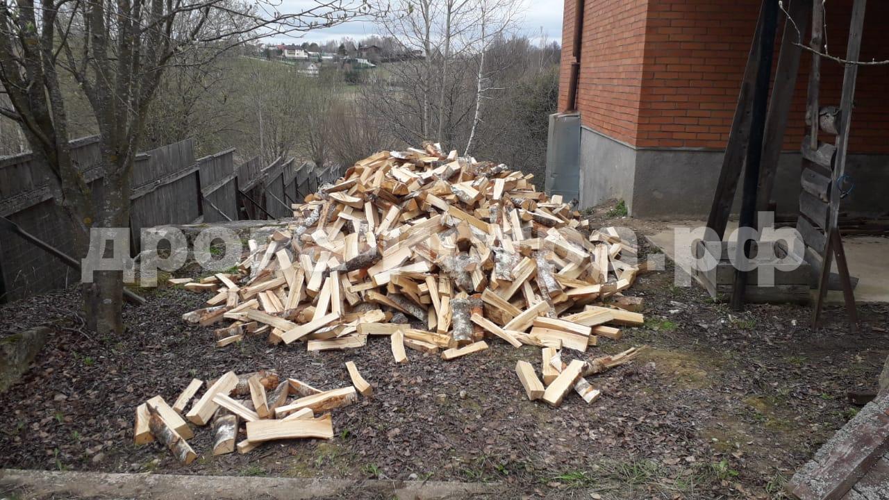 5 м³ берёзовых дров в п. Северный, Истринский р-н