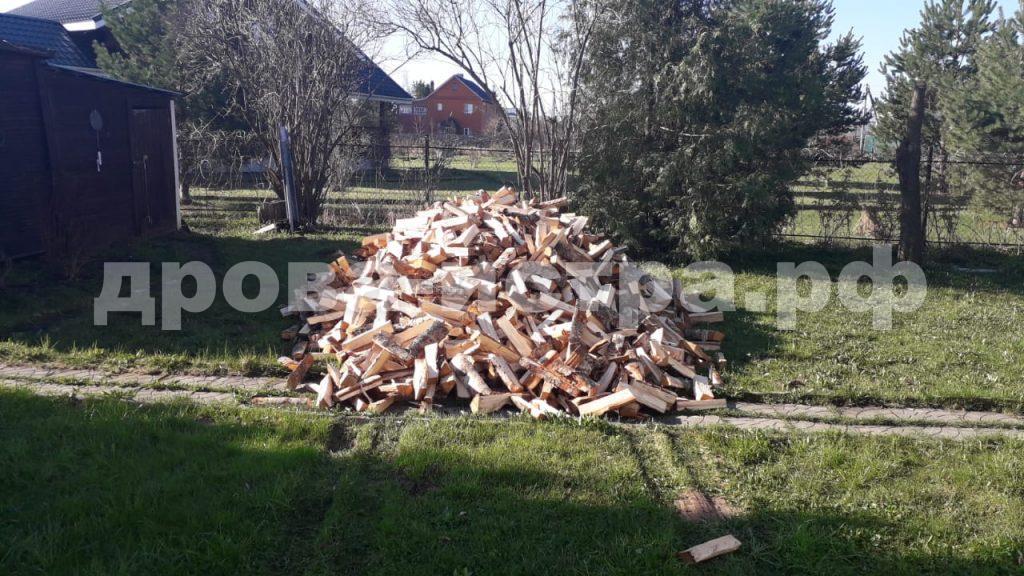 5 м³ берёзовых дров в д. Алехново, Истринский р-н