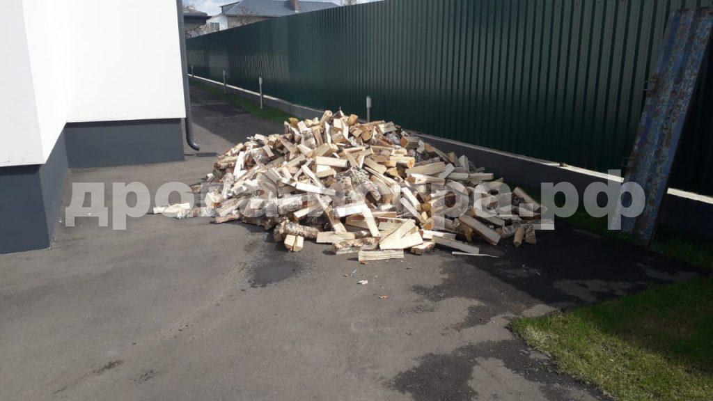3 м³ берёзовых дров в СНТ Театральное,  Истринский р-н