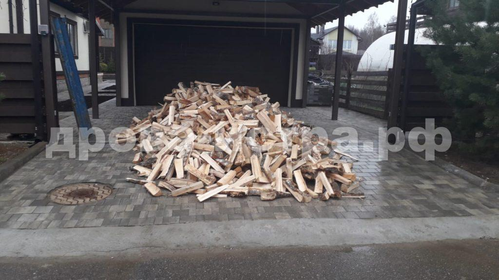 5 м³ берёзовых дров в д. Троица, Истринский р-н