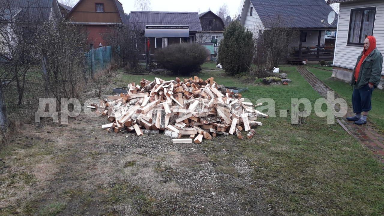 3 м³ берёзовых дров в д. Еремеево, Истринский р-н