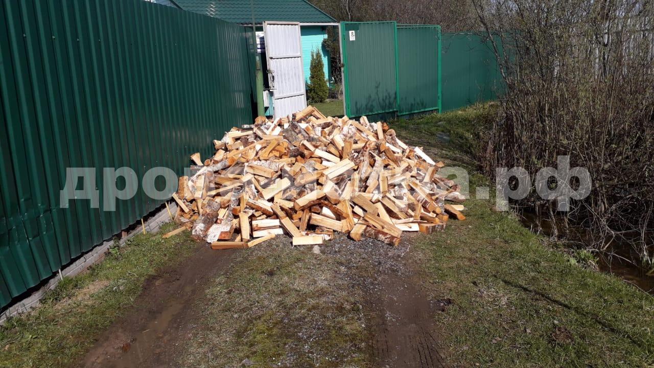 5 м³ берёзовых дров в СНТ Манихино, Истринский р-н