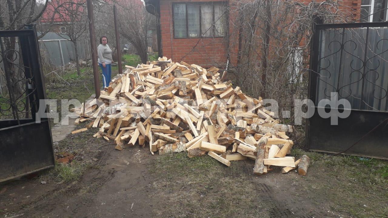 5 м³ берёзовых дров в СНТ Рябинка, Истринский р-н