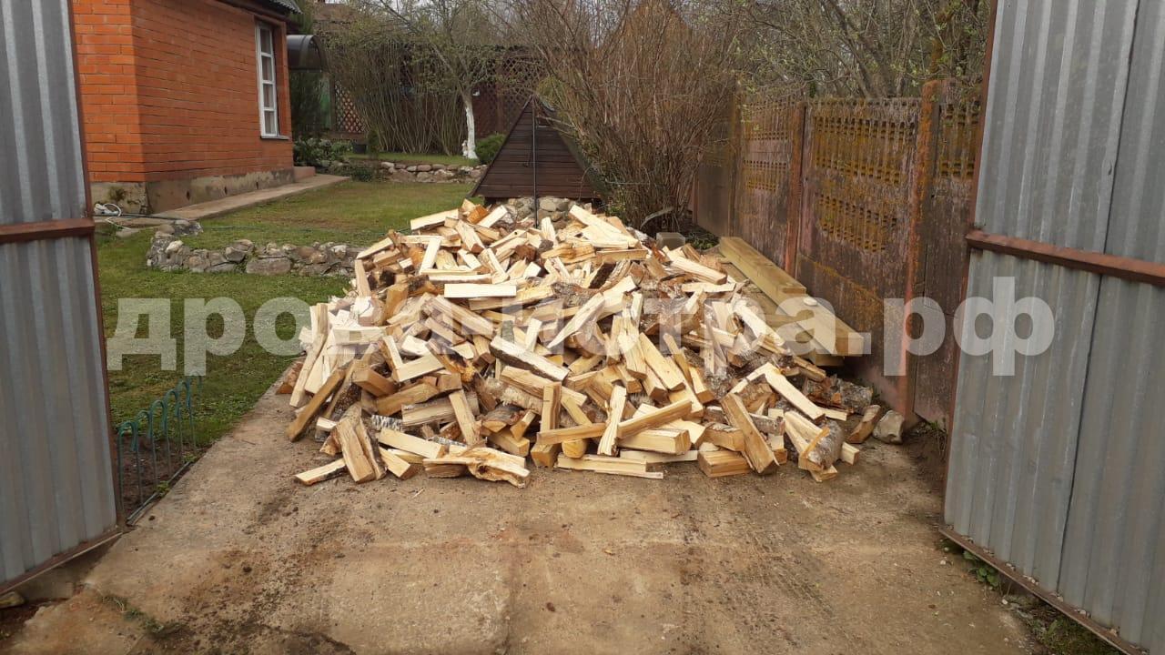 3 м³ берёзовых дров в СНТ Фрунзенец, д. Бужарово, Истринский р-н