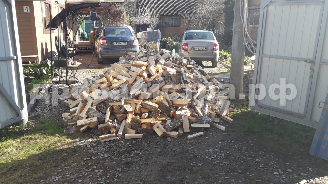5 м³ берёзовых дров в СНТ Фауст-1, Истринский р-н