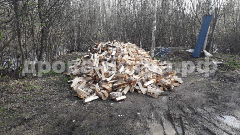 5 м³ берёзовых дров в д. Ефимоново,  Истринский р-н