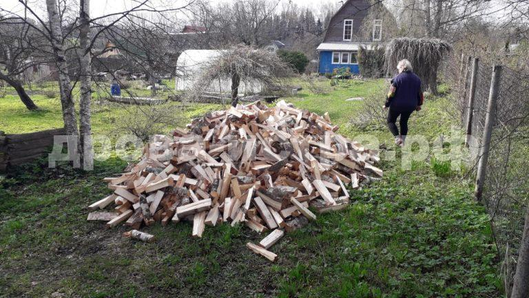 5 м³ берёзовых дров в д. Сафонтьево,  Истринский р-н