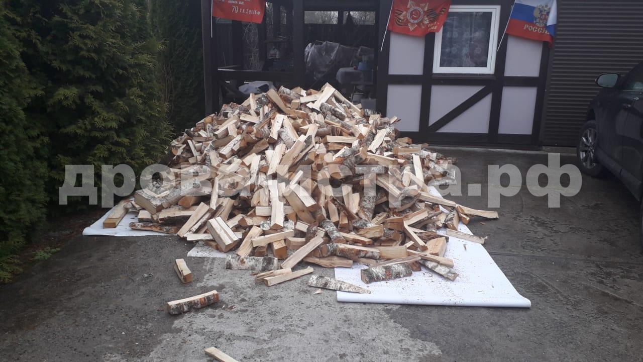 5 м³ берёзовых дров в СНТ Подводник, 1, Истринский р-н