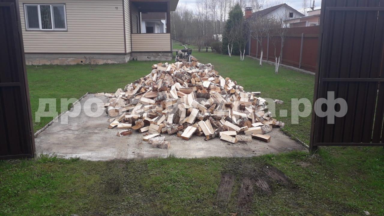 5 м³ берёзовых дров в д. Деньково, Истринский р-н