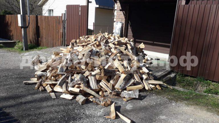 4 м³ берёзовых и 1 м³ дубовых дров в д. Андрейково,  Рузский р-н