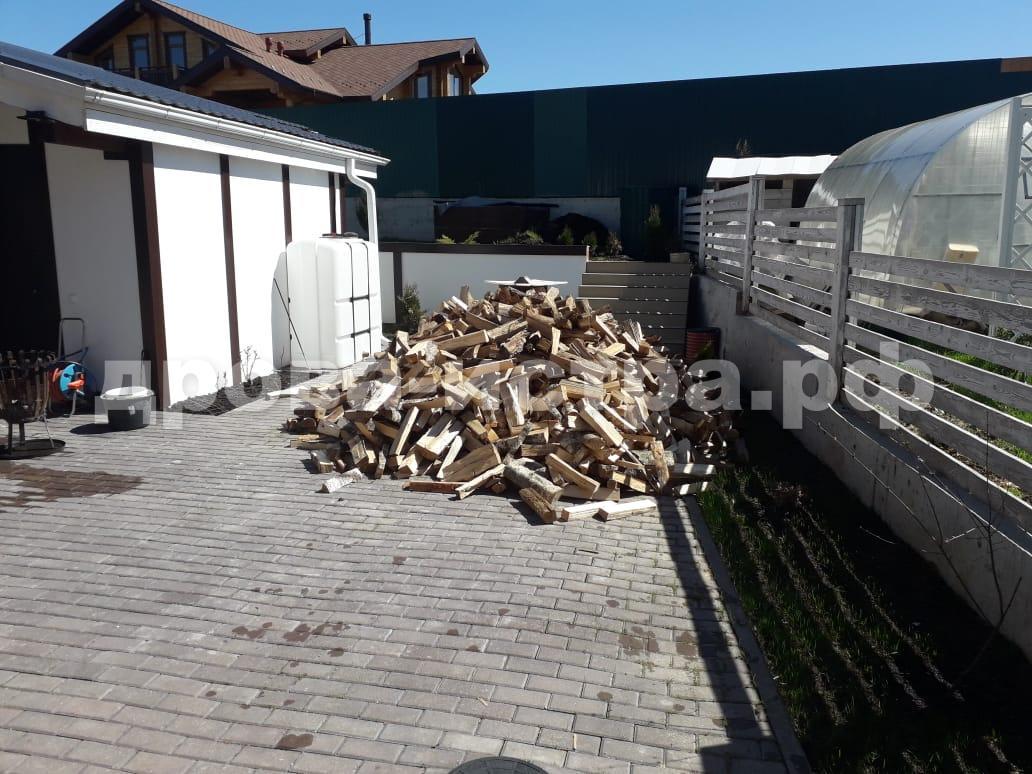 5 м³ берёзовых дров в кп. Пятница Club, Истринский р-н