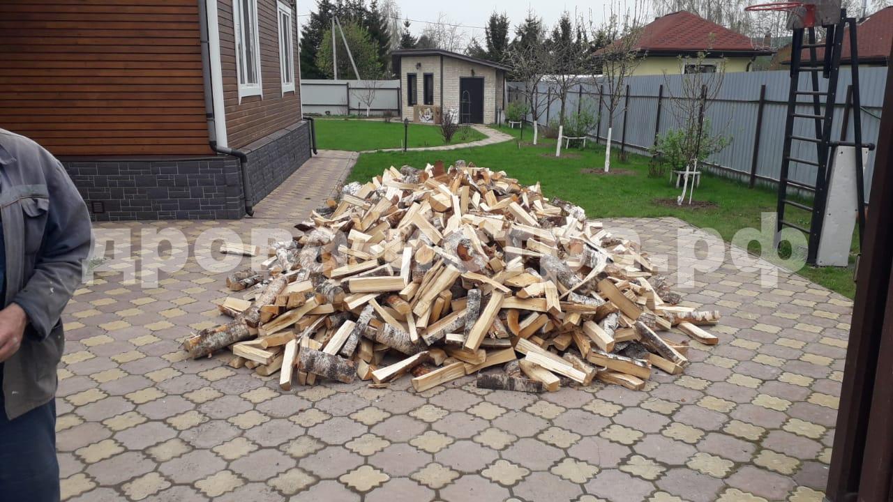 5 м³ берёзовых дров в д. Никитское, Истринский р-н
