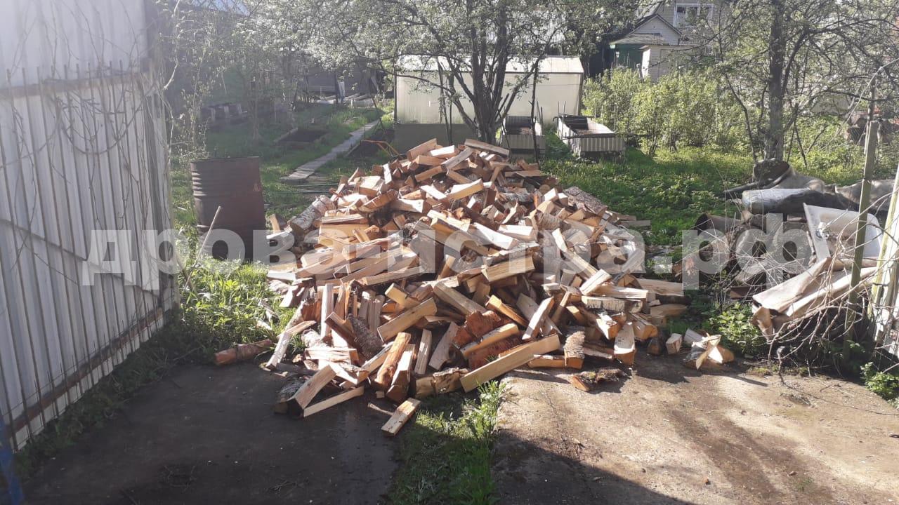 5 м³ берёзовых дров в д. Леоново, Истринский р-н