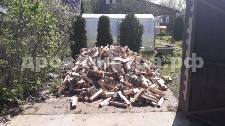 3 м³ берёзовых дров в д. Петушки,  Истринский р-н