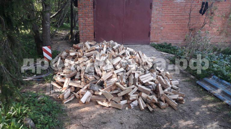5 м³ берёзовых дров в д. Алексеевка,  Истринский р-н