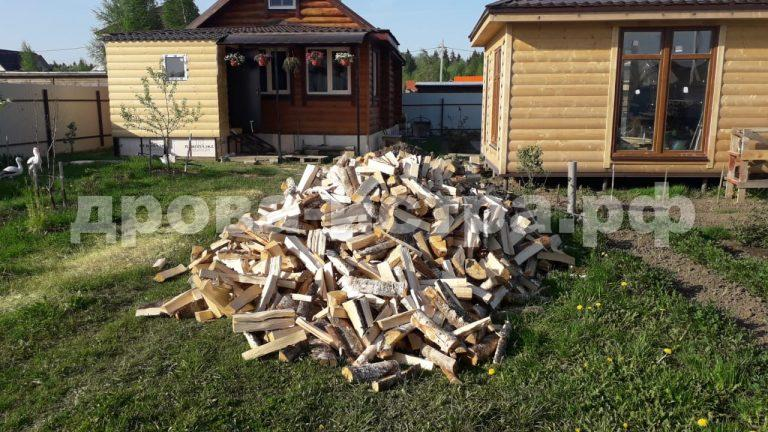 5 м³ берёзовых дров в дп. Снегири,  Истринский р-н