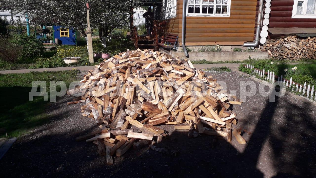 Копия 5 м³ берёзовых дров в д. Ананово, Истринский р-н
