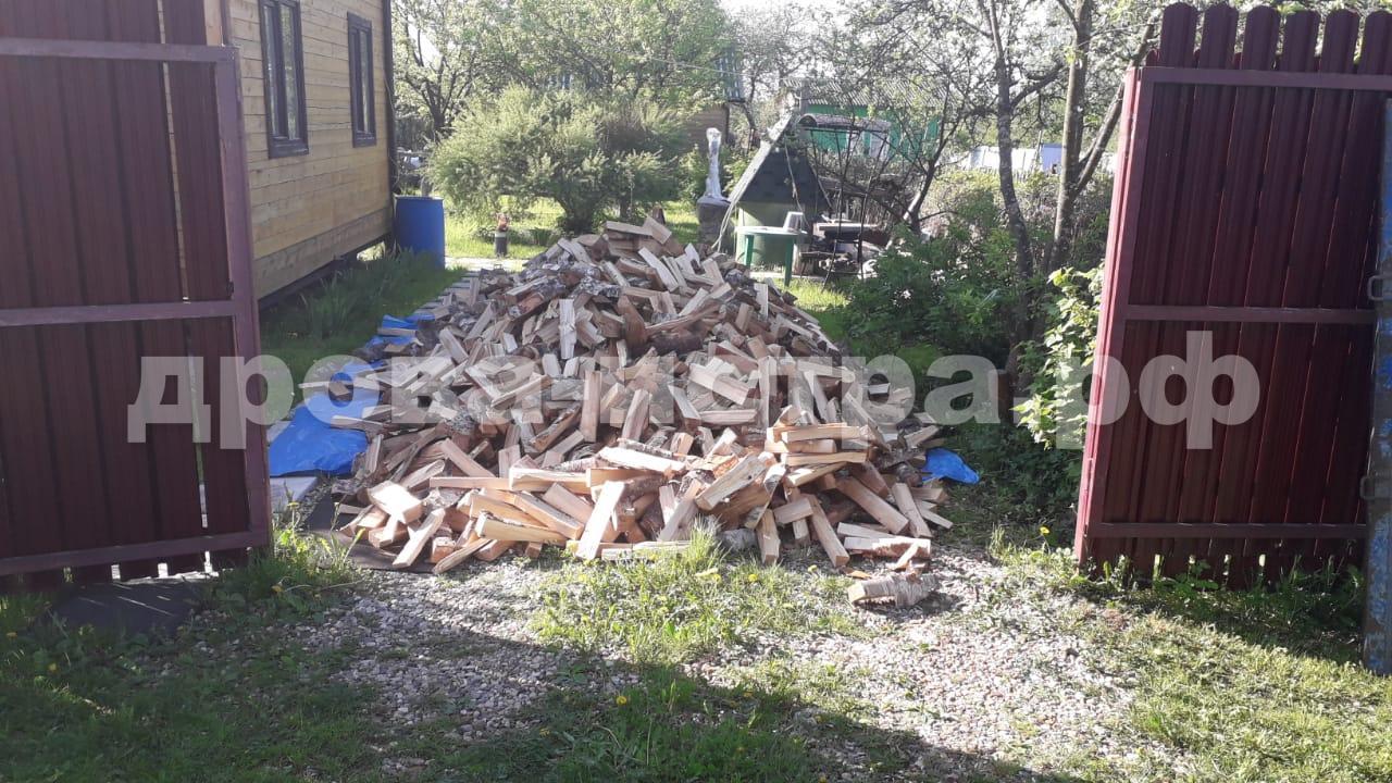 5 м³ берёзовых дров в СНТ Фрунзенец, Истринский р-н
