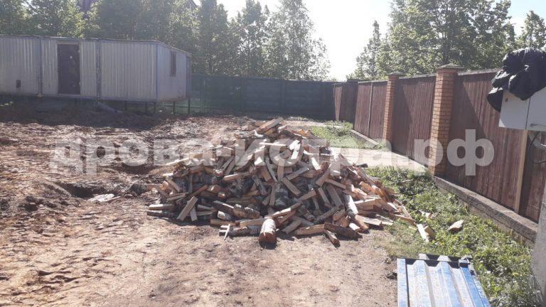 5 м³ берёзовых дров в СНТ Холщевики, Истринский р-н