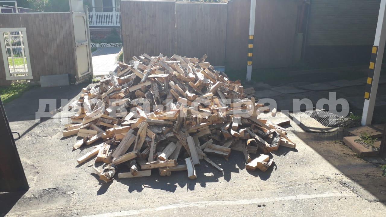 5 м³ берёзовых дров в кп. Алексино, Истринский р-н
