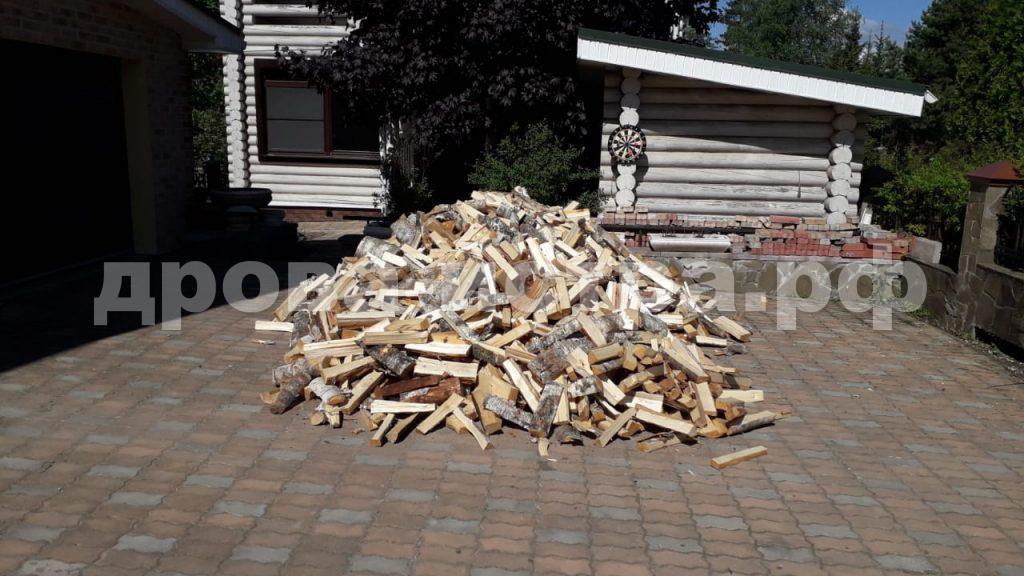 5 м³ берёзовых дров в д. Надовражино, Истринский р-н