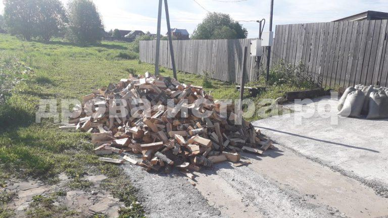 5 м³ берёзовых дров в д. Рыбушки,  Истринский р-н