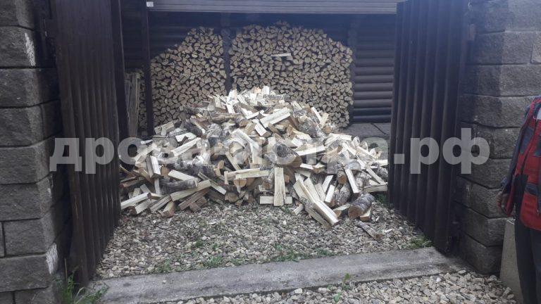 5 м³ берёзовых дров в д. Денисиха,  Рузский р-н