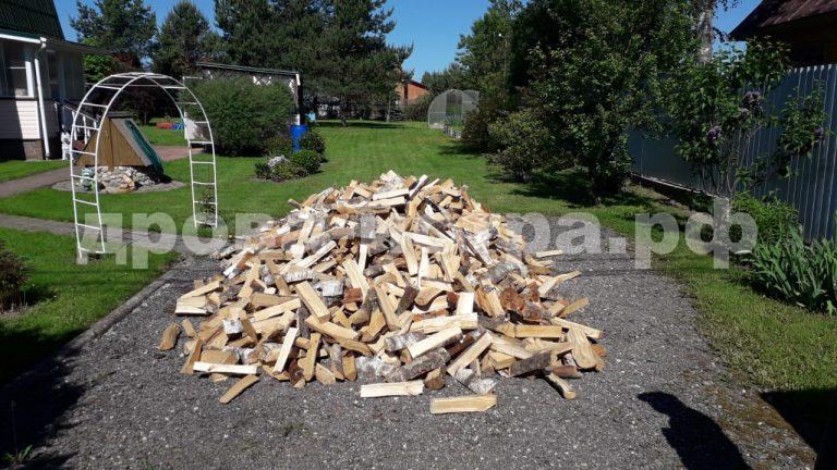 5 м³ берёзовых дров в д. Борисково,  Истринский р-н