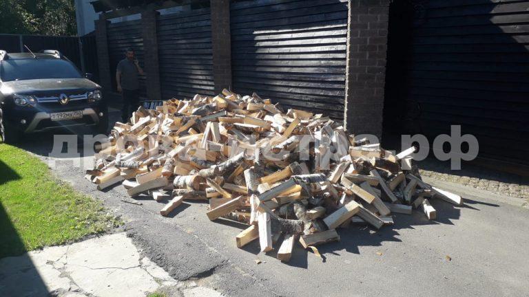 5 м³ берёзовых дров в д. Филатово,  Истринский р-н