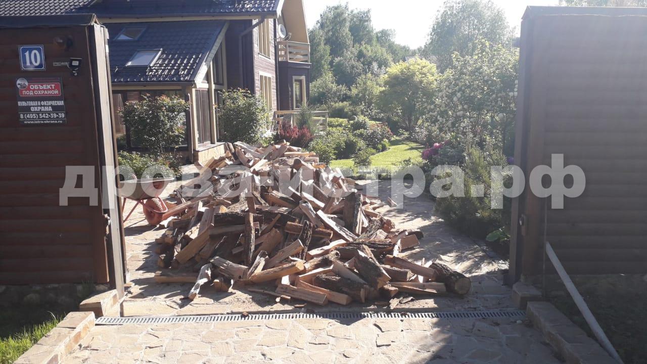 5 м³ дубовых дров в д. Куртниково, Истринский р-н