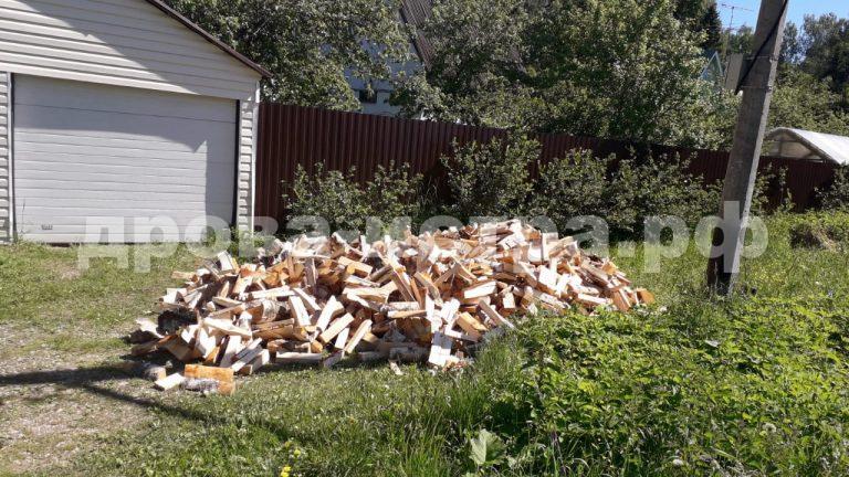 5 м³ берёзовых дров в СНТ Поляна, Истринский р-н