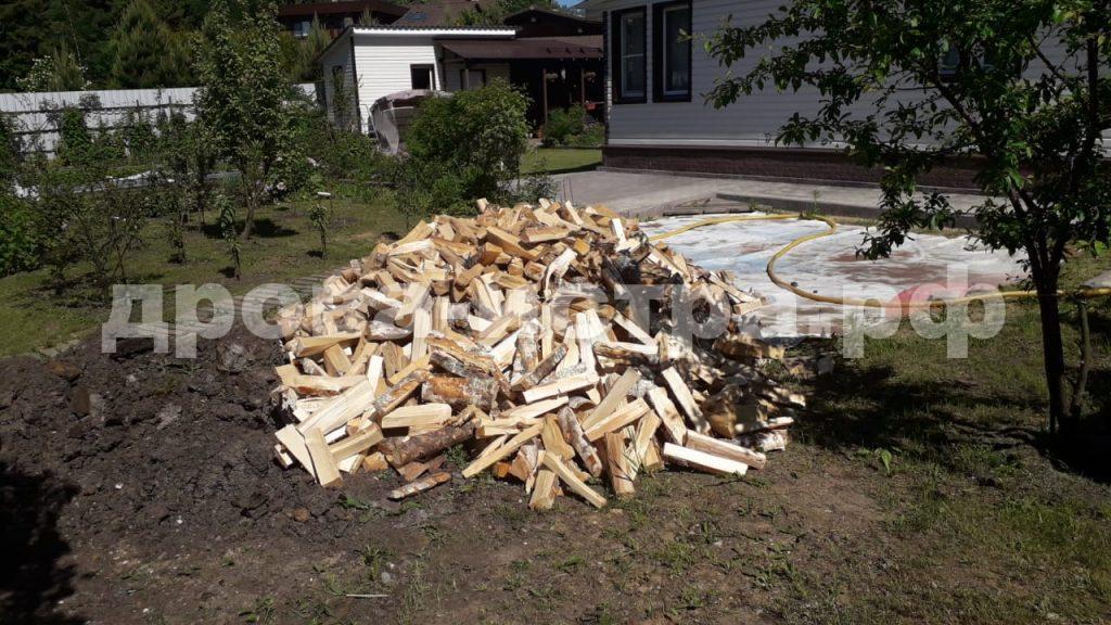 5 м³ дубовых дров в д. Аносино,  Истринский р-н