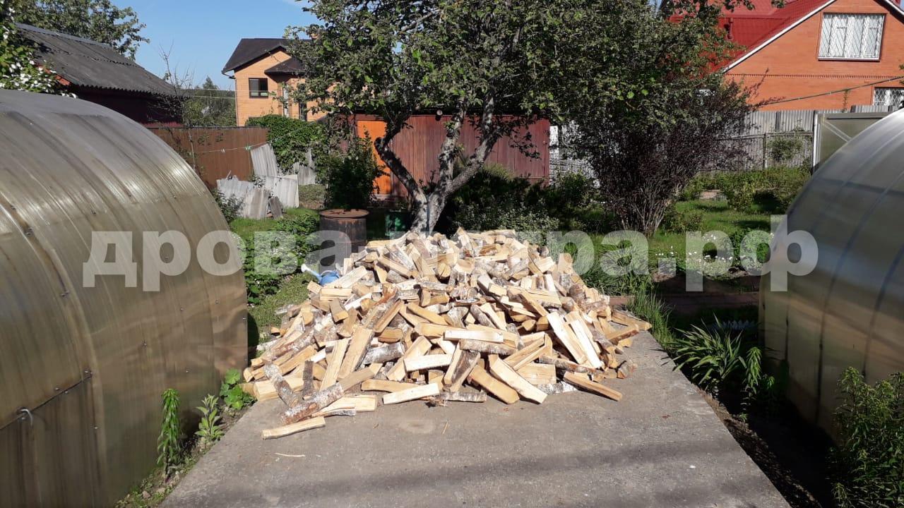 3 м³ берёзовых дров в дп. Снегири, Истринский р-н
