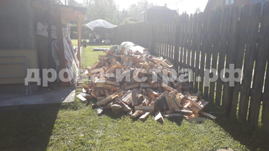 5 м³ берёзовых дров в д. Раково,  Истринский р-н