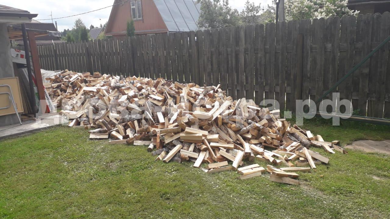 10 м³ берёзовых дров в СНТ Остоженка, Истринский р-н