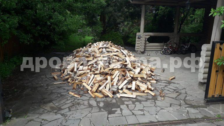 5 м³ берёзовых дров в д. Вельяминово, г.о. Истра