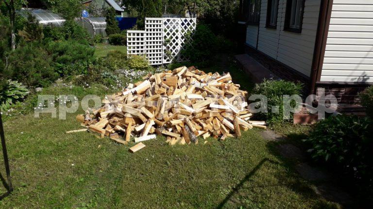 3 м³ берёзовых дров в д. Горнево, г.о. Истра
