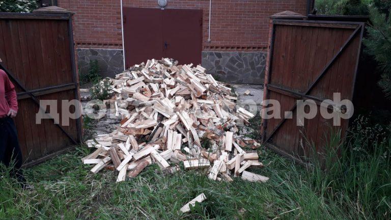5 м³ берёзовых дров в д. Повадино,  Солнечногорский р-н