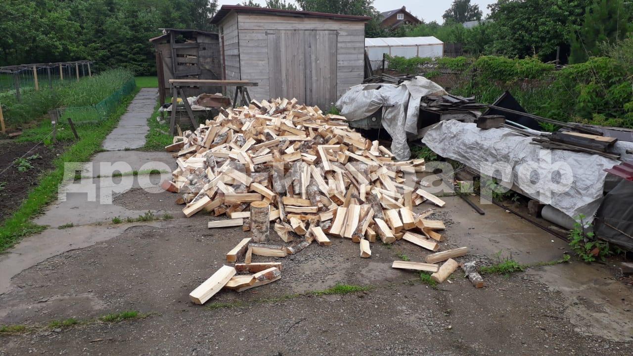 5 м³ берёзовых дров в д. Шемякино, Солнечногорский р-н