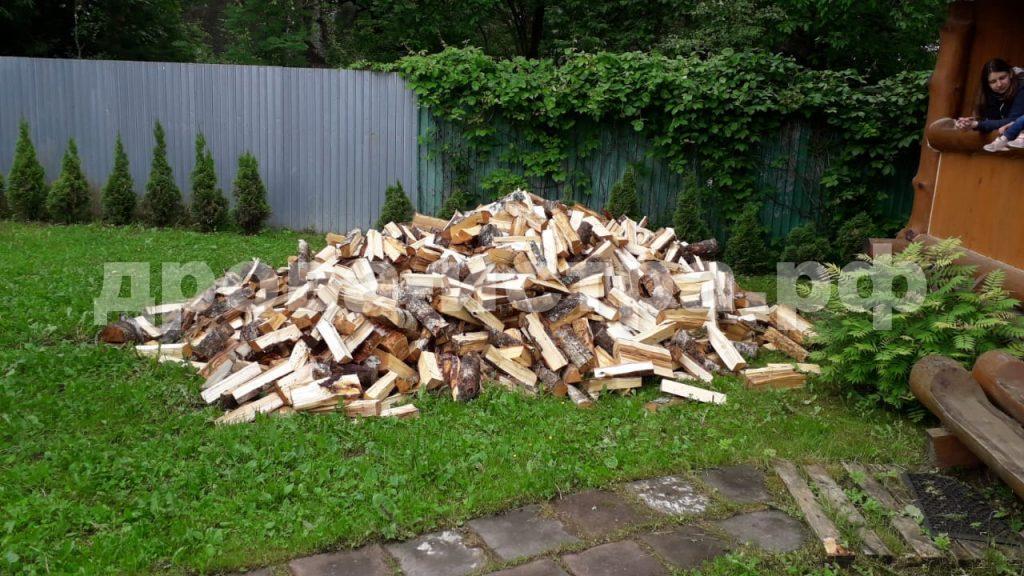 5 м³ берёзовых дров в д. Cавельево, г.о. Истра