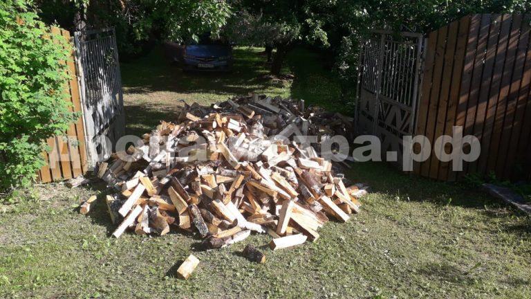 5 м³ берёзовых дров в д. Граворново, г.о. Истра