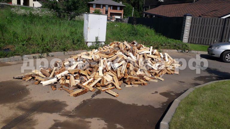 5 м³ берёзовых дров в д. Киселёво, г.о. Истра