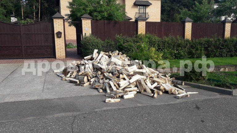 4 м³ осиновых дров в д. Павловское, г.о. Истра
