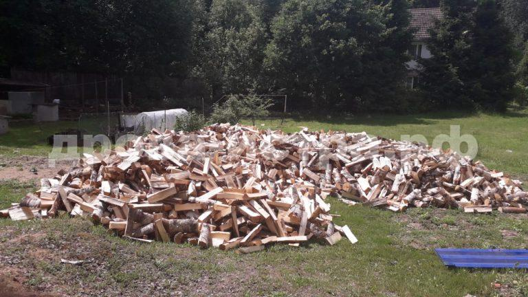 20 м³ берёзовых дров в д. Родионцево, г.о. Истра
